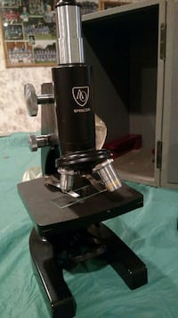 black and stainless steel spencer microscope Arlington Heights, 60004
