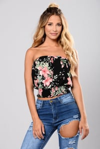 Tropical tube top - Small
