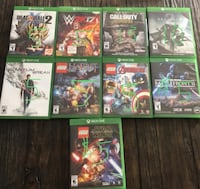 XBOX ONE game lot  TORONTO
