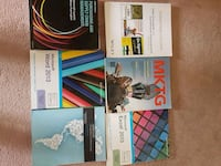 six assorted student books Kitchener, N2N