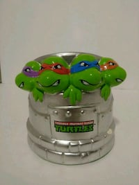 TEENAGE MUTANT NINJA TURTLES COIN BANK