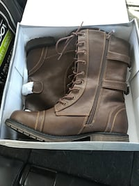 Brand new combat boots