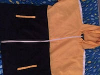 yellow and black thin rain coat 33 km