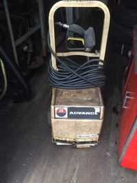 Black and gray pressure washer Ajax