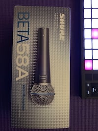Shure Beta 58A vocal microphone - NEW!!!