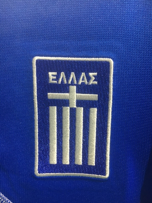 Greek national team Home  jersey by Adidas size small dfa246a2-701a-4942-8101-6680ecd62f42
