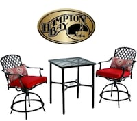 HAMPTON BAY 3PC BISTRO SET   Oshawa, L1J 6A8