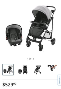 *NEW* Graco stroller and infant car seat