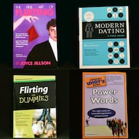 Dating, flirting, speaking books for personal deve Toronto, M2K 3C1