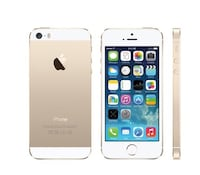 Gold iPhone 5s Perfect Condition  London, N5V 5G9