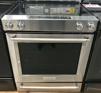 Kitchen Aid stainless steel slide in stove 15% off Reisterstown, 21136