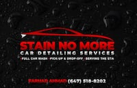 *STAIN NO MORE* Complete Car detailing! Brampton