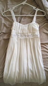 white spaghetti strap mini dress Calgary, T3L 2R8