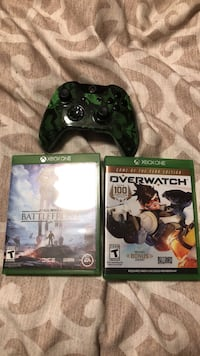 modded controller  and 2 games Spanaway, 98387