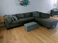 Sectional couch and ottoman Pasadena, 21122