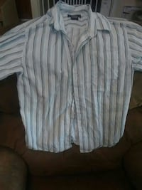 Boys button long sleeve shirt size 10/12
