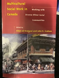 Multicultural Social Work in Canada TEXTBOOK NO MARKINGS.