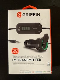 Brand new Griffin iTrip FM transmitter Cambridge, N1T 1G6