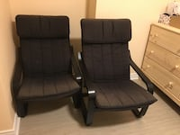2 IKEA POANG Armchairs  Mississauga, L5M 6R6
