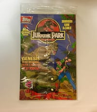 Topps Comics Seal Jurassic Park Issue #0 (2 books) Daly City, 94015