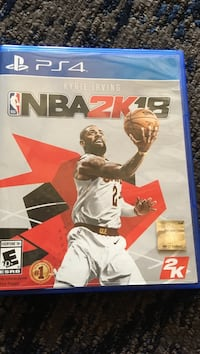 Sony PS4 NBA 2K17 game case