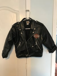 Kids S/M Leather Harley Davidson Jacket Glen Burnie, 21061