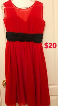 Brand new woman red dress for $20