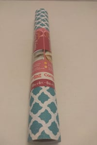 "$4  Brand new teal and white contact grip paper  18"" x 4ft Louisville, 40243"