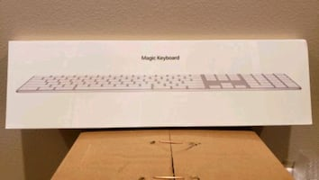 Apple Wireless Rechargeable Magic Keyboard with Numeric Keypad