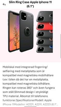 Nytt Apple iPhone 11 Stavanger, 4034