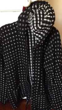 black and white button-up long-sleeved shirt Takoma Park, 20912