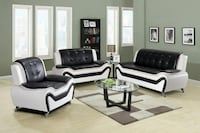 black and white living room set Houston, 77036