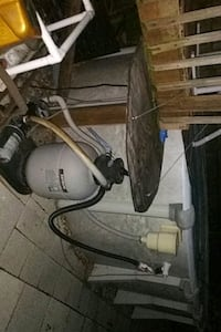 Pool sand filter pump everything works