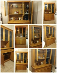 Armoire de Salon/Cuisine-Display Cabinet-Amroire