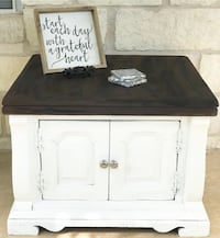 white and black wooden cabinet Kyle, 78640