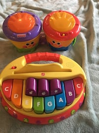 Fisher price piano & drums Surrey, V4A