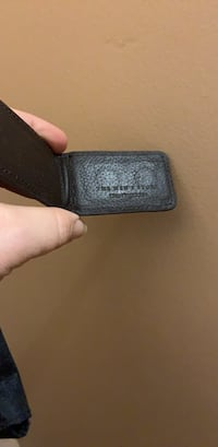 Leather money clip from Bloomingdales  Aldergrove, V4W 3H9