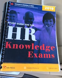 2019 Study Guide for HR Knowledge Exam Mississauga, L4T 1V1