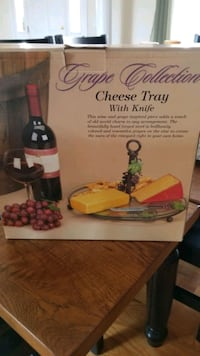 Cheese Tray W/Knife Winchester, 22603