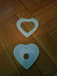 Heart shaped Picture frame paper weights  Brooklyn, 11214