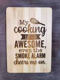 Custom engraved cutting board Hagerstown