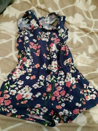 Kids blue and red floral sleeveless dress Toronto, M1K 4H7
