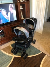 Sit N Stand double stroller Dover, 37058