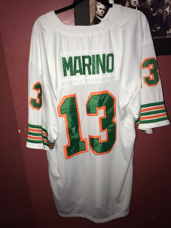newest ec7c5 4cb9a NFL Miami Dolphins Dan Marino Mitchell & Ness Classic Throwback Jersey