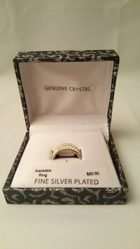 Gorgeous Genuine White Crystal Fine Silver Plated  Germantown, 20876