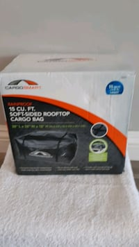 CARGO 15cu.ft.  Soft Sided Rooftop Cargo Bag Carrier New (Firm)