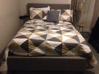New Gray Full Bed Silver Spring