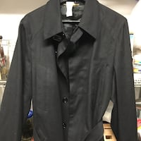 Authentic Dolce & Gabbana men's black wool coat/jacket sz 50 Burnaby, V5G 3X4