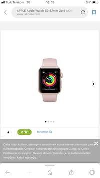 apple watch 38mm series 1 Bağcılar, 34214