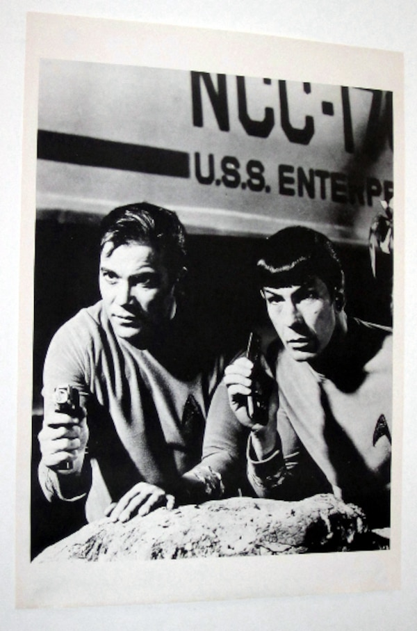 STAR TREK CAPTAIN KIRK, SPOCK POSTER VINTAGE AND RARE! SHATNER, NIMOY